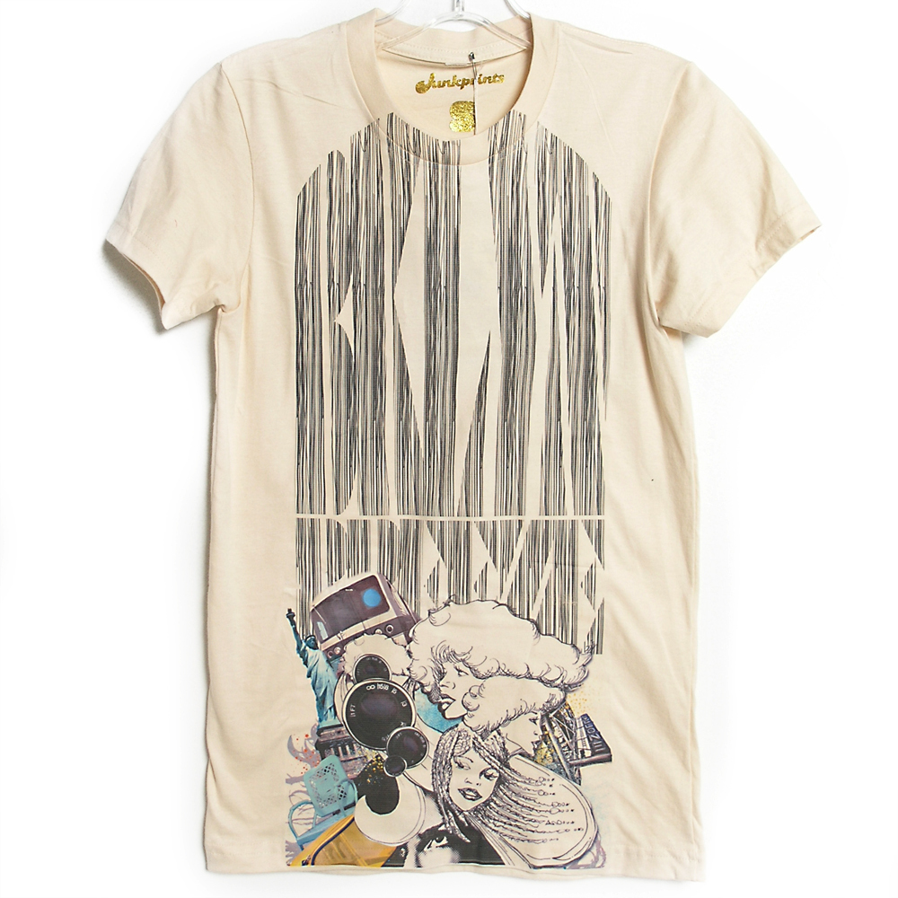 JUNKPRINTS.COM Dana Athens BROOKLYN BREEZE TEE