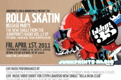 ROLLA SKATIN- RELEASE PARTY FRI. APRIL 1ST 2011